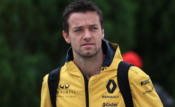 Jolyon Palmerin Renault-ura päättyy sunnuntaina.