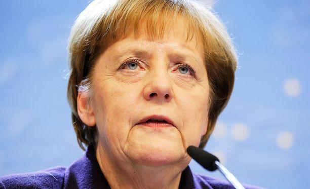 Saksan liittokansleri Angela Merkel uskoo euroalueen kestävän Kreikan lähdön.
