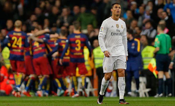 Cristiano Ronaldon tulevaisuus puhuttaa.
