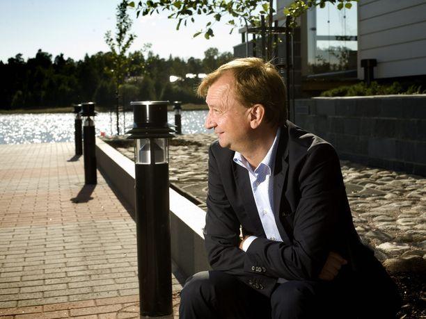 Projektin käynnistänyt Hjallis Harkimo Sipoonrannassa vuonna 2011.