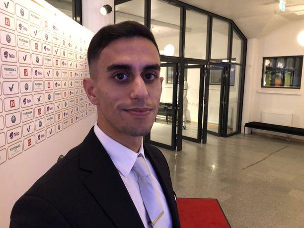 Veikkausliigan pelaajat äänestivät Mohammad Al-Emaran sarjan parhaaksi tuomariksi.