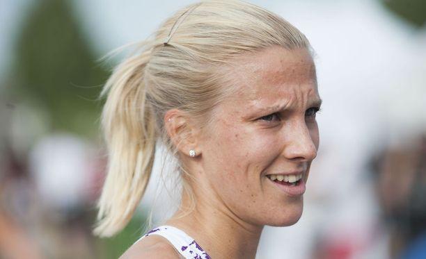 Camilla Richardsson on Jukka Keskisalon valmennuksessa.