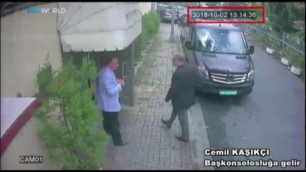 Jamal Khashoggi (oik,) meni hakemaan dokumentteja todisteeksi avioerostaan ja jäi sille tielleen.