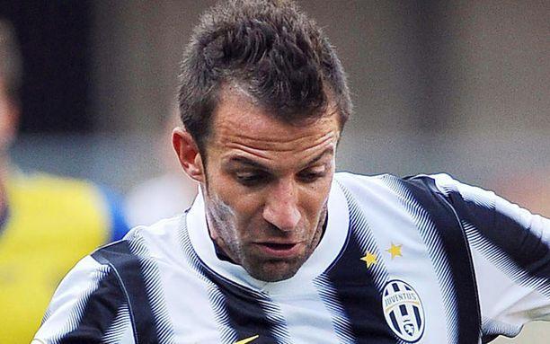 Mieliikö Alessandro Del Piero Englantiin?
