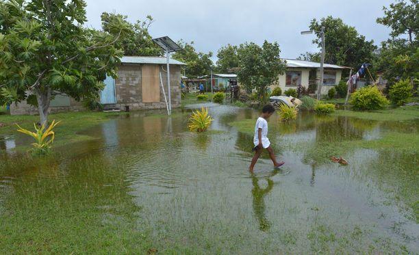 Pienet saarivaltiot, kuten ilmastokokousta johtanut Fidzi, ovat ilmastonmuutokselle kaikkein haavoittuvaisimpia alueita.