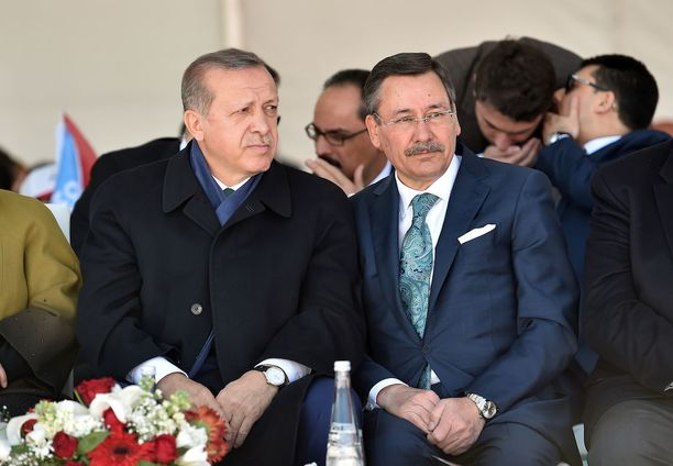 Turkin presidentti Recep Tayyip Erdoğan ja Ankaran pormestari Melih Gökçek ovat tehneet yhteistyötä AKP:n alkuajoista asti.