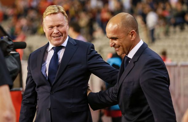 Siirtyvätkö Barcelonan päävalmentajan vastuut Ronald Koemanilta Roberto Martínezille?