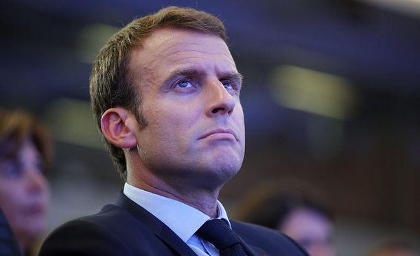 Ranskan presidentti Emmanuel Macron pitää Yhdysvaltojen EU:lle asettamia tuontitulleja virheenä.