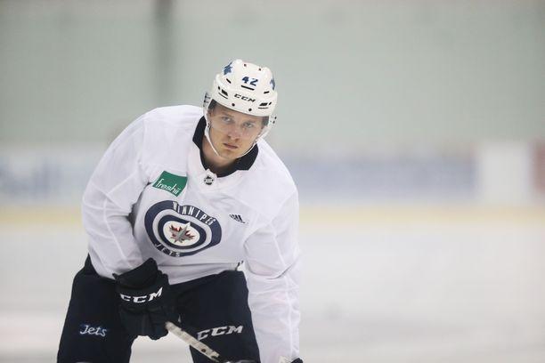 Kristian Vesalainen treenaa taas Jetsin riveissä.
