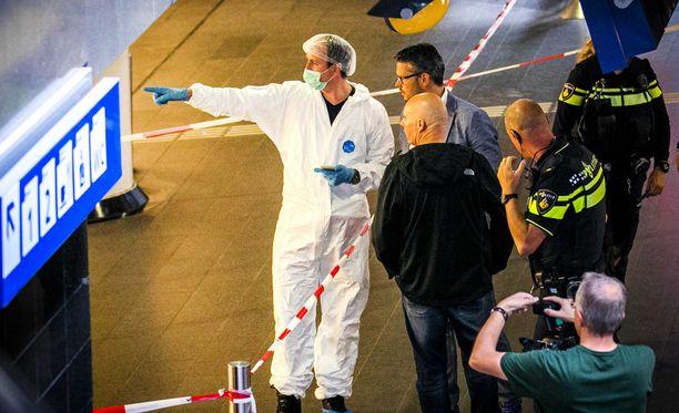Hyökkääjä saatiin taltutettua yhdeksän sekuntia iskun alkamisen jälkeen.