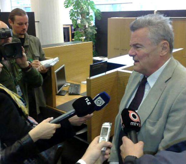 – Käräjäoikeuden perustelut olivat kovin suppeat, Erkki Aurejärvi totesi oikeustalolla.
