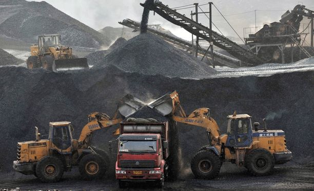 Kaivosonnettomuudet ovat Kiinassa yleisiä. Arkistokuva.