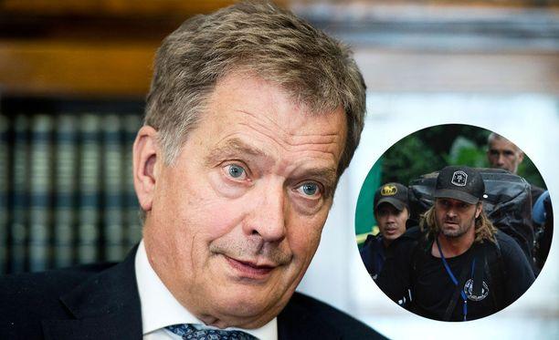 Presidentti Niinistö kertoo seuranneensa Thaimaan pelastusoperaatiota muun maailman tavoin.