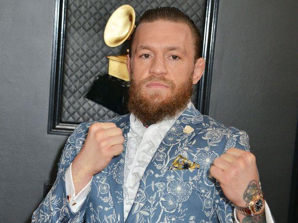 Conor McGregor on jälleen valmis kehään.