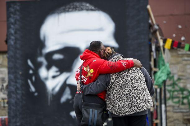 George Floydista on tullut rasismin vastaisen liikkeen symboli.