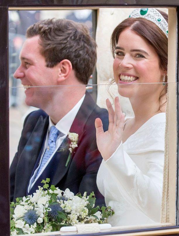 Eugenie ja Jack menivät naimisiin 12. lokakuuta 2018.