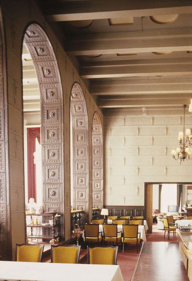 Grand Hotel Tammerin ruokasali vuonna 1990.