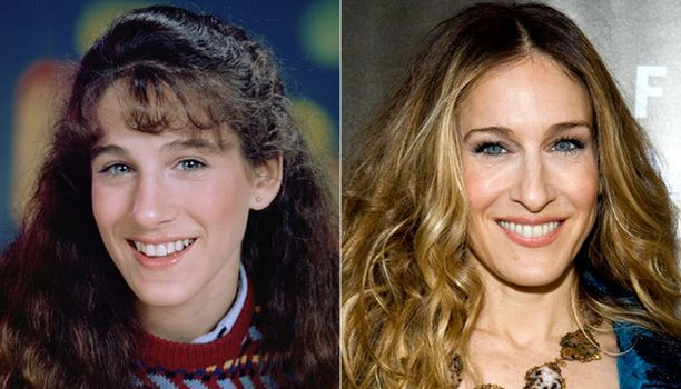 Sarah Jessica oli 17-vuotias näytellessään Square Pegs -sarjassa. Tyyli-ikoniksi hän nousi reilu kolmekymppisenä Sinkkuelämää-sarjan myötä.