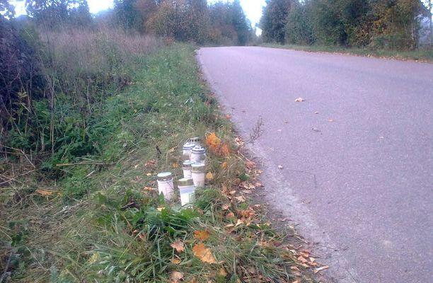 TURMAPAIKKA 5-vuotias jäi auton alle Haminassa Sipilänmäentiellä.