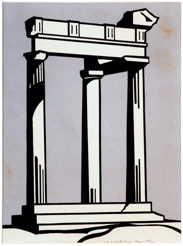 Roy Lictenstein: The Temple