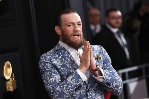 Conor McGregor käyttää rahojaan muun muassa vaatteisiin.