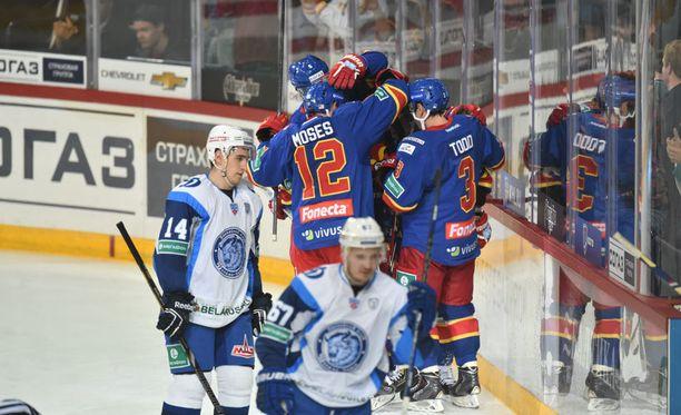 Jokerit kohtaa pudotuspelien ensimmäisellä kierroksella mitä todennäköisimmin Dinamo Minskin.