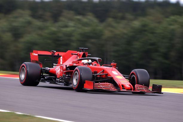 Ferrarilla ei kulje tällä hetkellä.
