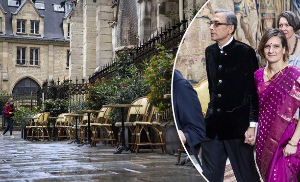 Esther Duflo ja Abhijit Banerjee haluaisivat suojella Pariisin Latinalaiskorttelin kahvilat täydelliseltä asiakaskadolta.