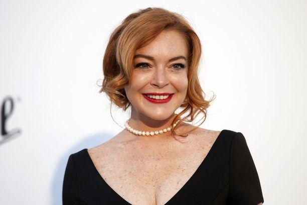 Tältä Lindsay Lohan näytti vuonna 2017.