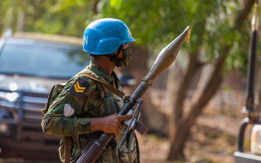 Kaksi YK:n rauhanturvaajaa surmattu Keski-Afrikan tasavallassa