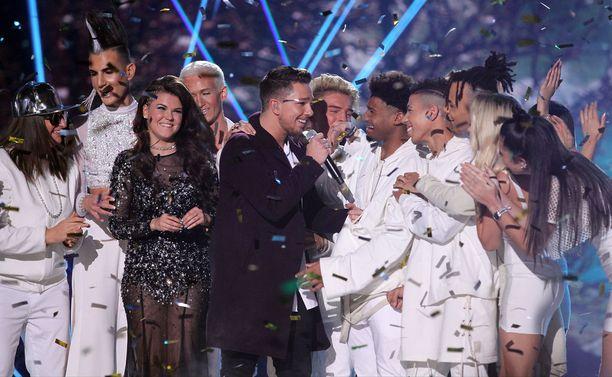 Matt Terry peittosi Saara Aallon X Factor UK:ssa. Mitä Mattille kuuluu nyt?
