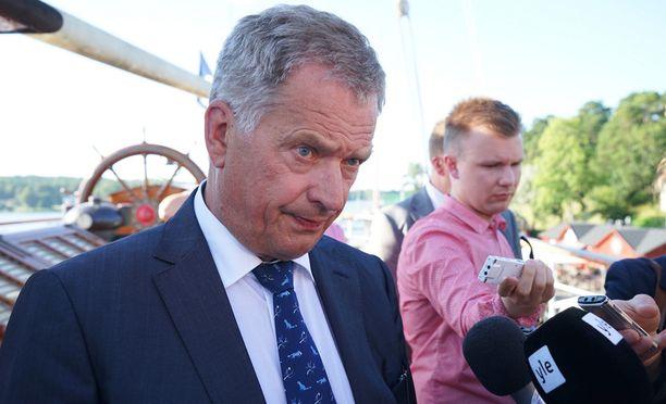 Presidentti Sauli Niinistö saattaa edustaa Suomea Naton Varsovan huippukokouksen työillallisella heinäkuun alussa.