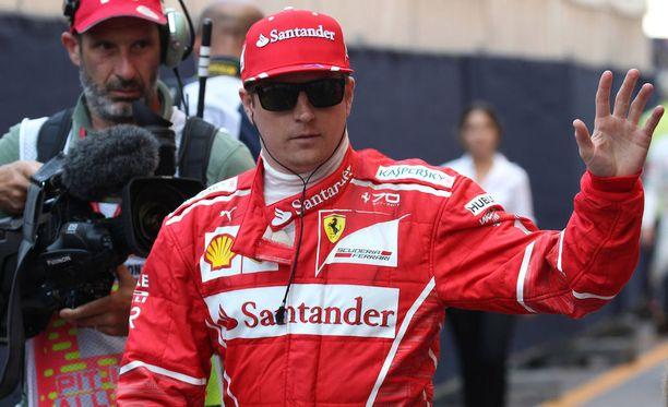 Kimi Räikkönen olisi toivonut toisenlaista lopputulosta Monacon GP:lle.