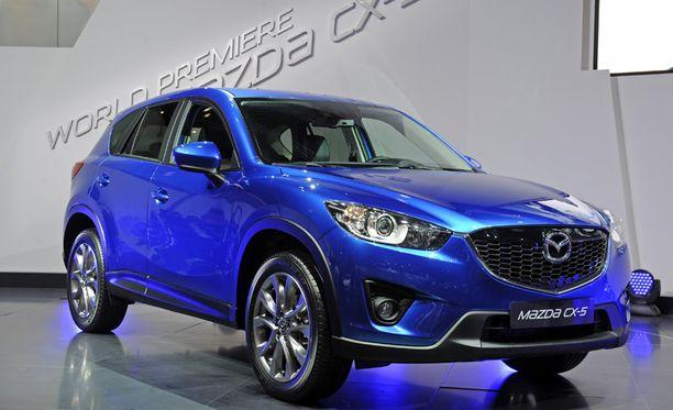 Mazda CX-5 täydentää Mazdan mallistoa.