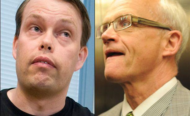 Aki Haaro ja Jukka Vihriälä ovat tyytymättömiä Nuorisosäätiö-tuomioihinsa.