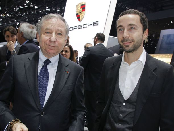 Jean Todtin Nicolas-poika muistuttaa kovasti isäänsä.