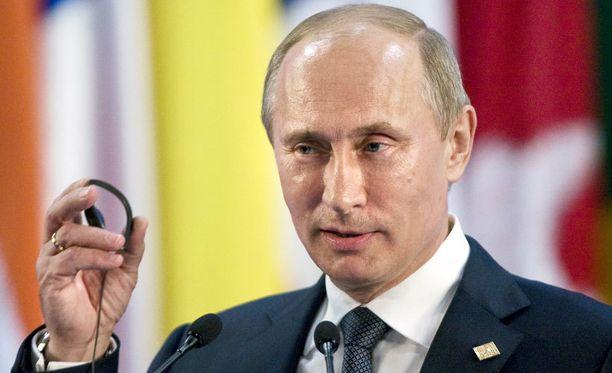 Putin nosti jälleen Nato-kysymyksen esille.