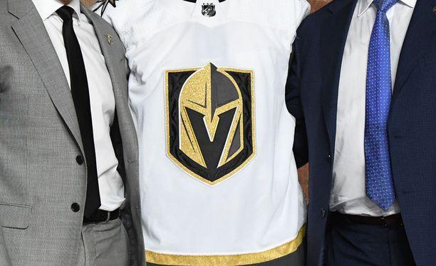 Las Vegasin NHL-seura röyhii Twitterissä.