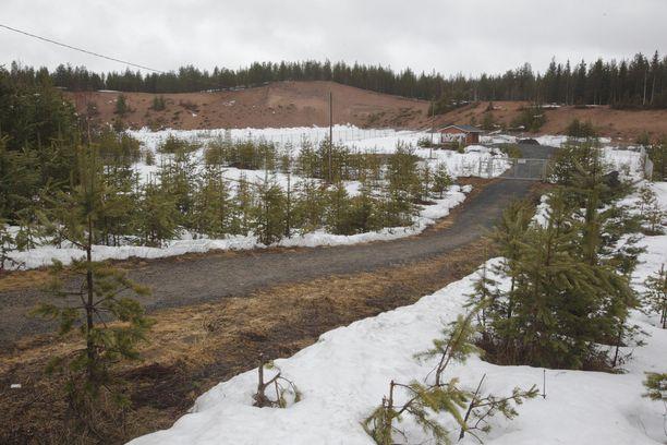 Teko tapahtui Mäntyvaaran entisellä soranottoalueella.