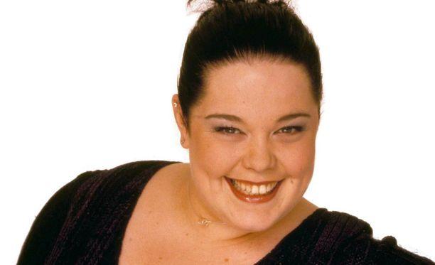 Lisa Riley vuonna 1999, kun hän näytteli Emmerdale-sarjassa Mandy Dingleä.