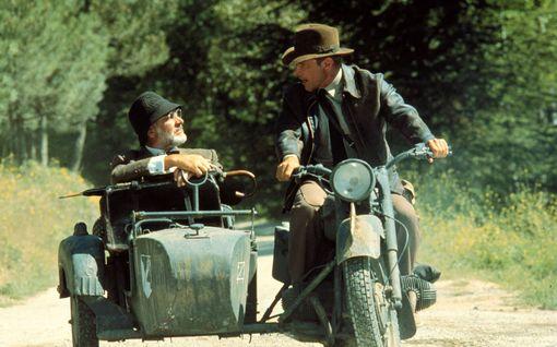 Harrison Ford muistelee lämmöllä Sean Connerya - moottoripyöräkohtaus on jäänyt elävästi mieleen