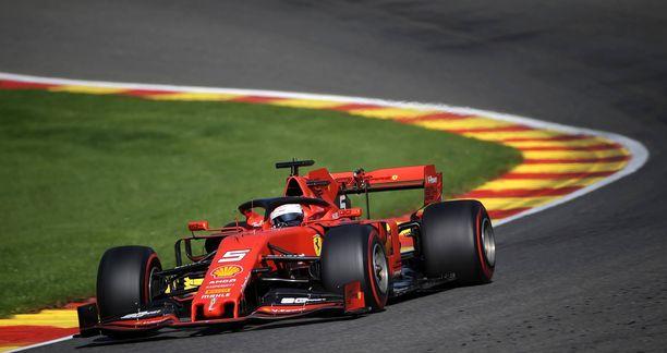 Sebastian Vettel nappasi toistaiseksi viimeisen GP-voittonsa juuri Span radalta.