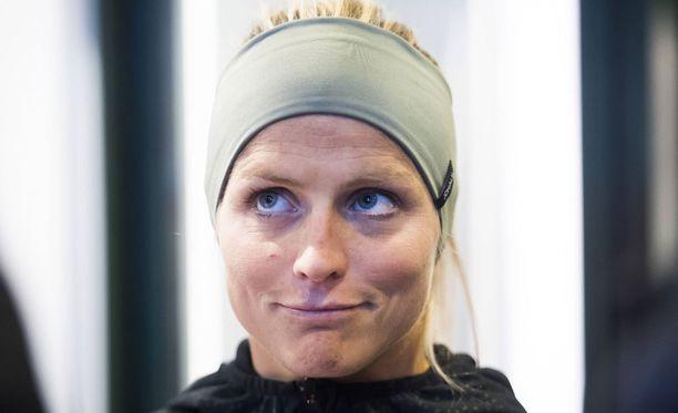 Therese Johaug ei omien sanojensa mukaan huomannut Trofodermin-voiteessa ollutta doping-merkintää.