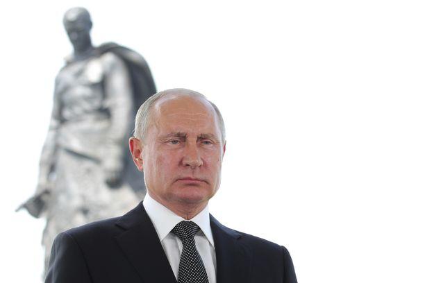Venäjän presidentti Vladimir Putin puhui kansalle tiistaina, päivää ennen pääasiallista äänestyspäivää.