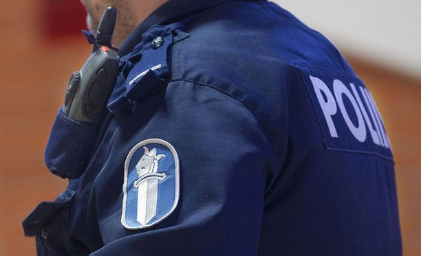 Poliisi tutkii ryöstöä Vehmaalla. Kuvituskuva.