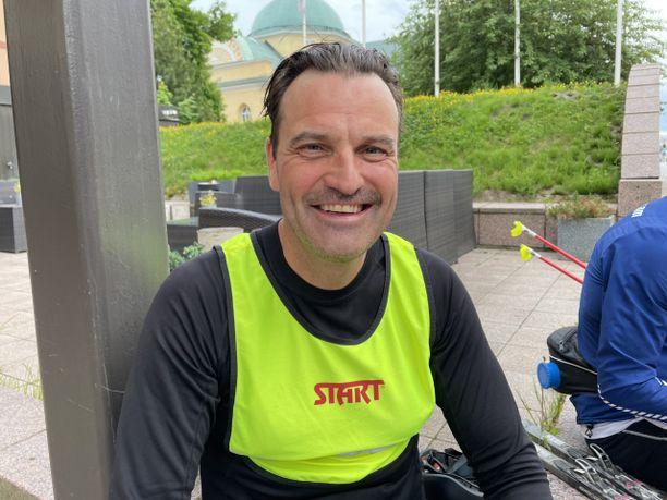 Teemu Virtanen hiihti hurjat 1600 kilometriä kymmeneen päivään.