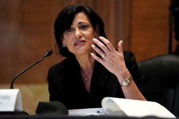 Yhdysvaltojen tautiviraston johtaja Rochelle Walensky antoi madonlukuja aiemmin heinäkuussa.
