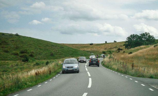 Etelä-Ruotsin hyvät tiet pitävät autot yleensä hyvässä kunnossa.