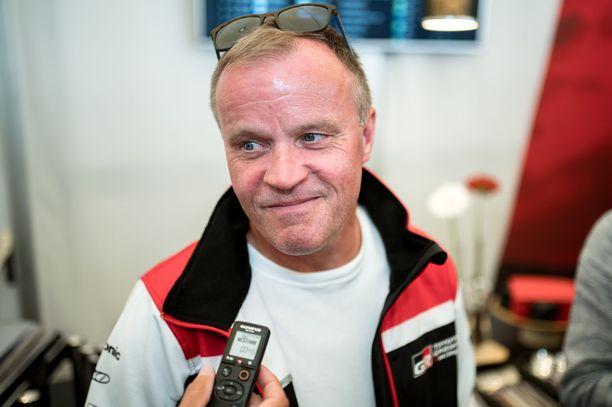 Tommi Mäkisen Toyota ei ole vielä vahvistanut ensi kauden kuljettajiaan.