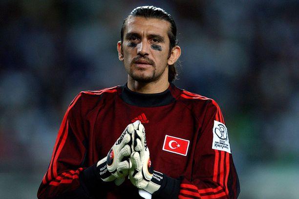 Rüştü Reçber ja Turkki voittivat MM-pronssia vuonna 2002.